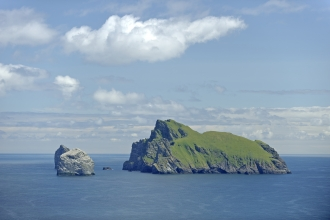 Islands of Boreray, Stac Lee and Stac an Armin in the Saint Kilda archipelago