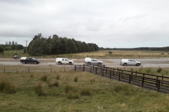 Woodhall Spa Airfield team building day