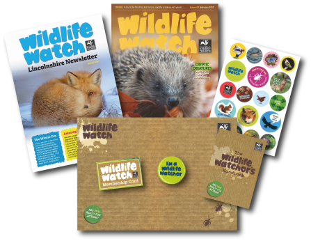 Wildlife Watch membership pack